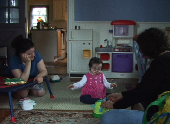 Guidelines for choosing contexts:  LA plays bubbles with her mom & Janice