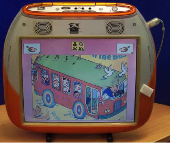 Wheels on the Bus, fun, easy assistive technology